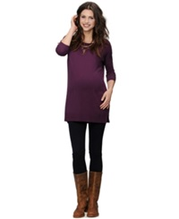 A Pea In The Pod Maternity Pocket Front Sweater