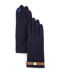 Lauren Ralph Lauren Tech Belt Gloves Navy