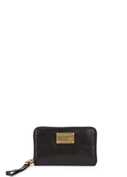 Marc By Marc Jacobs Wingman Black Leather Wallet