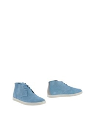 Clae Ankle Boots Sky Blue