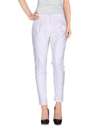 Gai Mattiolo Jeans Trousers Casual Trousers Women White