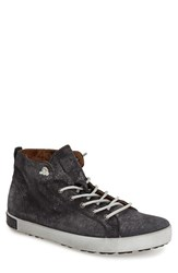 Men's Blackstone 'Jm 02' High Top Sneaker Black Leather