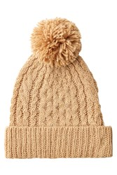 Polo Ralph Lauren Hat With Wool And Alpaca Camel