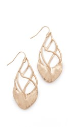 Adia Kibur Samantha Earrings Gold