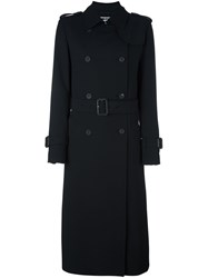 Mcq By Alexander Mcqueen Classic Trench Coat Black