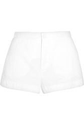 Marni Cotton And Linen Blend Shorts