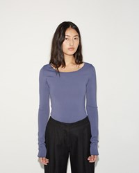Acne Studios Roso Pullover Dusty Blue