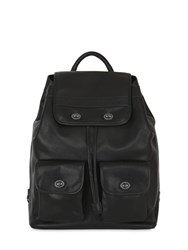 Mandarina Duck Medium Kyoto Leather Backpack