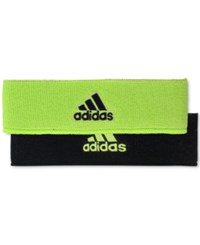 Adidas Men's Interval Climalite Reversible Headband Bright Green