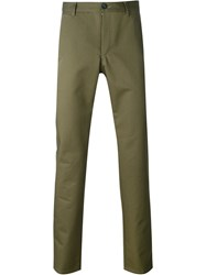 A.P.C. Tapered Chinos Green