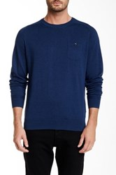 Ben Sherman The Crew Neck Pullover Blue