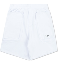 Pam White Terry Duplo Shorts