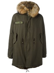 As65 Fur Lined Parka Green