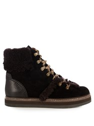See By Chloe Eileen Suede Ankle Boots Black