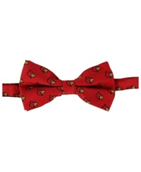 Eagles Wings Louisville Cardinals Bow Tie Black Red