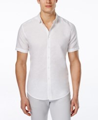Inc International Concepts Men's Cason Short Sleeve Shirt Only At Macy's