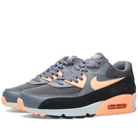Nike Womens Footwear Nike W Air Max 90 Essential Dark Grey And Sunset Glow