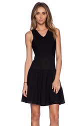 Sam Edelman Ottoman Sweater Dress Black