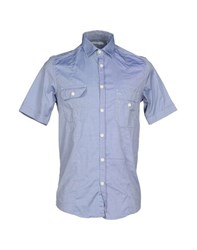 Aglini Shirts Shirts Men Blue