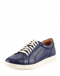 Cole Haan Quincy Sport Oxford Ii Leather Sneaker Blue