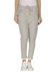 Maison Espin Trousers Casual Trousers Women Light Grey