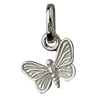 Links Of London Sterling Silver Butterfly Charm Silver