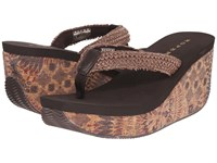 Roper Arizona Brown Women's Wedge Shoes