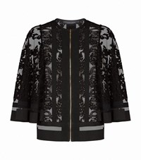 Elie Saab Lace Cape Top Female