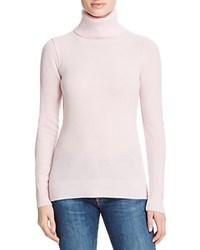 Aqua Cashmere Turtleneck Cashmere Sweater Light Pink