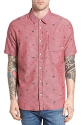 Vans Men's Sundown Short Sleeve Woven Shirt