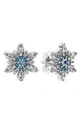 Pandora Design Women's Pandora 'Snowflake' Crystal Stud Earrings