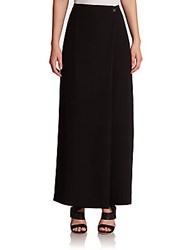 Opening Ceremony Celia Wrapped Wide Leg Pants Black