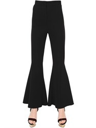Versace Flared Viscose Blend Cady Pants