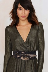 Nasty Gal Ada Collection Nia Leather Wrap Belt