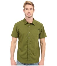 Black Diamond Short Sleeve Stretch Operator Shirt Cargo Men's Clothing Taupe