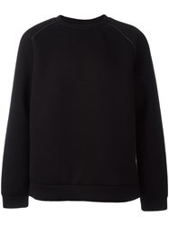 Alexander Wang T By Round Neck Sweatshirt Black