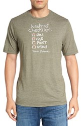 Tommy Bahama Men's 'Checklist' Graphic T Shirt