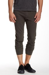 Star Usa By John Varvatos Moto Biker Knit Pant Gray