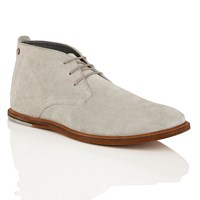 Frank Wright Strachan Mens Lace Up Boots Grey