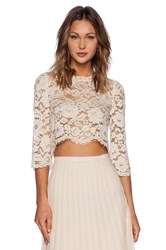 Candela Crawley Top Ivory