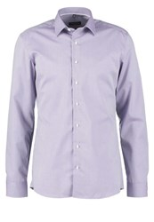 Eterna Slim Fit Formal Shirt Flider Lilac