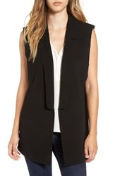 Leith Women's Raw Edge Structured Vest
