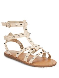 Sam Edelman Shane Studded Faux Leather Gladiator Sandals