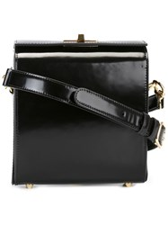 Simone Rocha Flip Lock Crossbody Bag Black