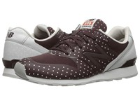 New Balance Wl696 Burgundy Synthetic Textile Women's Classic Shoes