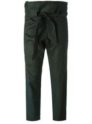 Vivienne Westwood Anglomania Bow Detail Trousers Green