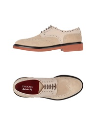 Doucal's Lace Up Shoes Beige