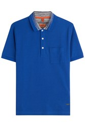 Missoni Cotton Polo Shirt Blue