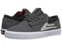 Lakai Griffin Little Kid Big Kid Grey Synthetic Men's Skate Shoes Gray