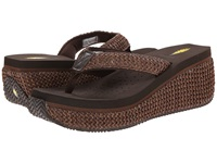 Volatile Island Brown Women's Wedge Shoes